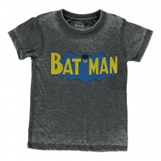 T-Shirt Batman Man Gris