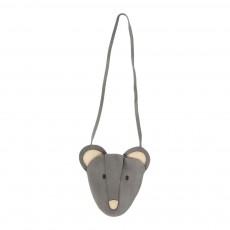 Sac Bandoulière Mouse Gris