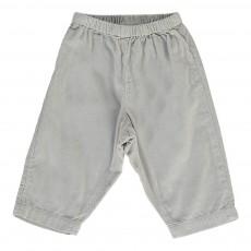Pantalon Velours Futur Gris clair