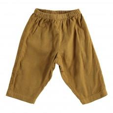 Pantalon Velours Futur Ocre
