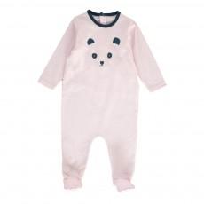 Pyjama Panda Rose pâle
