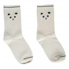 Chaussettes Panda Beige