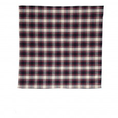 Foulard Grands Carreaux  Rouge