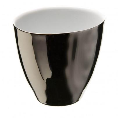 Image du produit Tasses Assoiffées en porcelaine platine - Vendues par 2 Argenté