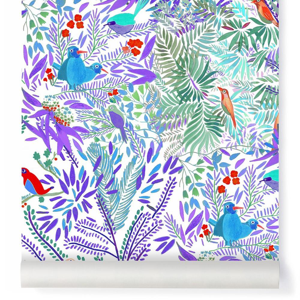 Papier peint multicolore design d 39 int rieur et id es de meubles - Conforama papier peint ...