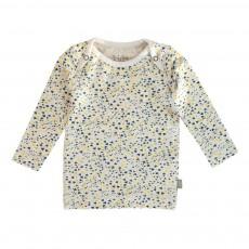 T-shirt Pois Fanny  Coton Bio Gris clair