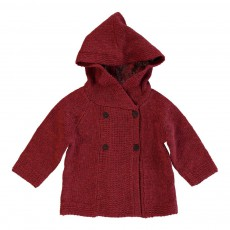 Cardigan Capuche Doug Rouge