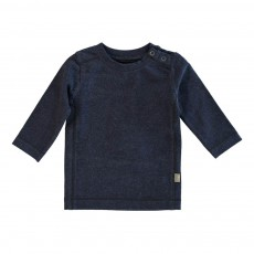 T-shirt Billy Coton Bio Bleu marine
