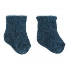Chaussettes Torsades Bleu marine