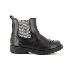 Bottines Chevrons Worky Noir