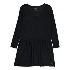 Robe Boutonnée Risy Noir