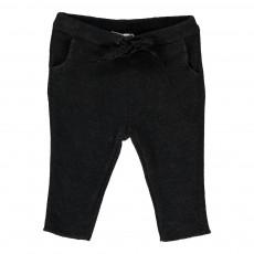Pantalon Lien Lurex Gris charbon
