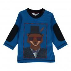 T-shirt Dandy Renard Bleu électrique