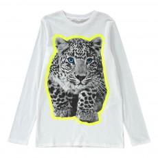 T-shirt Tigre Barley Blanc