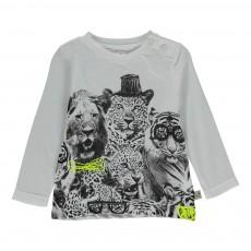 T-shirt Tigres Georgie Blanc