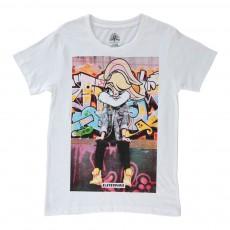 T-shirt Lola Blanc