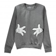 Sweat Poches Hug Me Gris anthracite