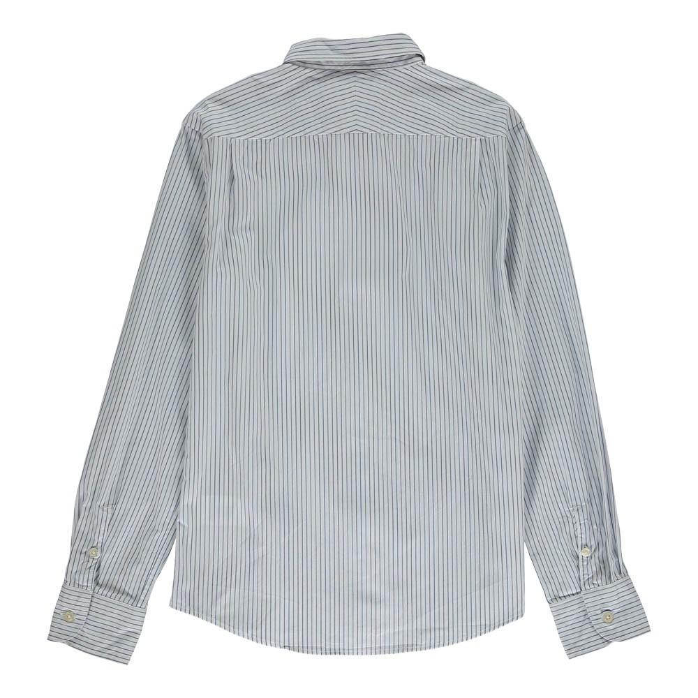 chemise slim fit ray e ganix blanc bellerose mode ado gar on smallable. Black Bedroom Furniture Sets. Home Design Ideas