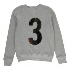 "Sweat ""3"" Camouflage Mobi Gris clair"