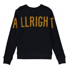 "Sweat ""Allright"" Vixx Bleu nuit"