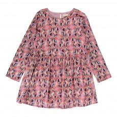 Robe Vichy Rose pâle