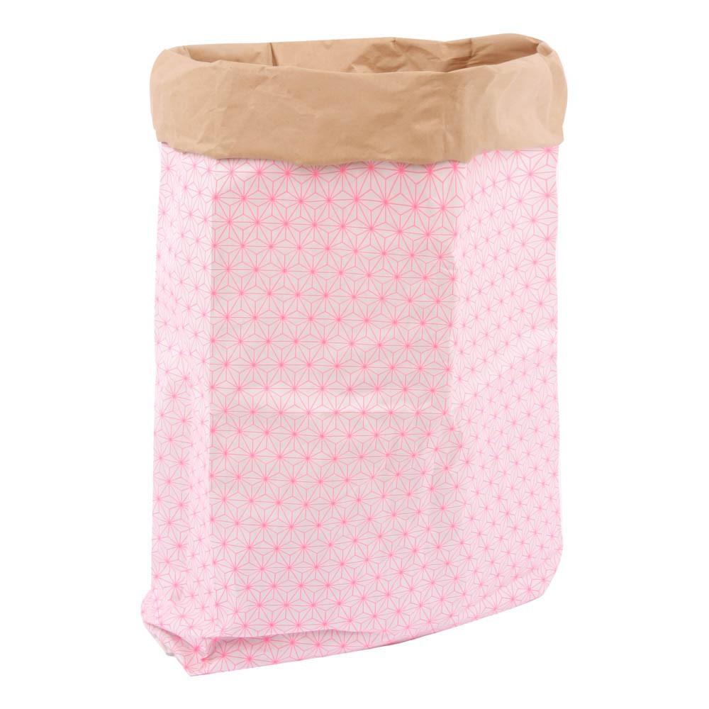 sac de rangement kolor toiles rose fluo adonde. Black Bedroom Furniture Sets. Home Design Ideas