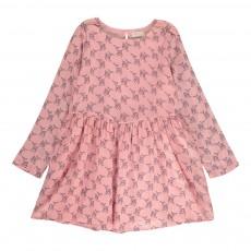 Robe Bambi Vichy Rose pâle