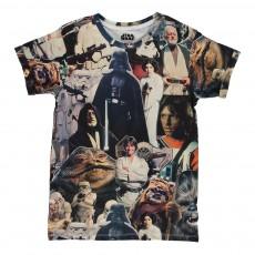 T-shirt Star Wars Starover Noir