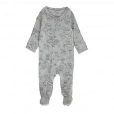 Pyjama Champignons Bitsy Gris