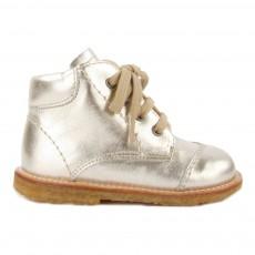Chaussures Premiers Pas Doré