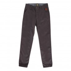 Pantalon Chino Twill Gris