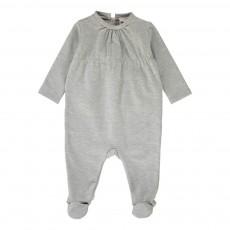 Pyjama Pieds Inkjet Gris chiné