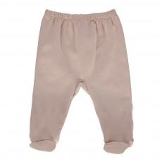 Pantalon Pieds Forbice Beige rosé