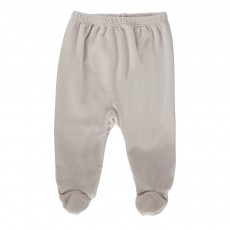 Pantalon Pieds Polaire Imbastitura Ivoire