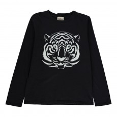 T-shirt Tigre Bleu marine