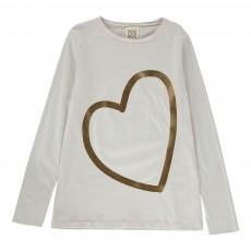 T-shirt Fibra Blanc cassé