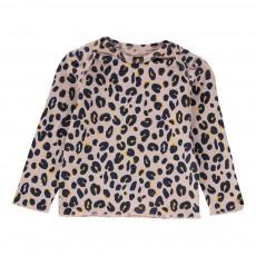 T-shirt Léopard Buster Rose pâle