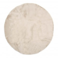 Tapis rond - Beige