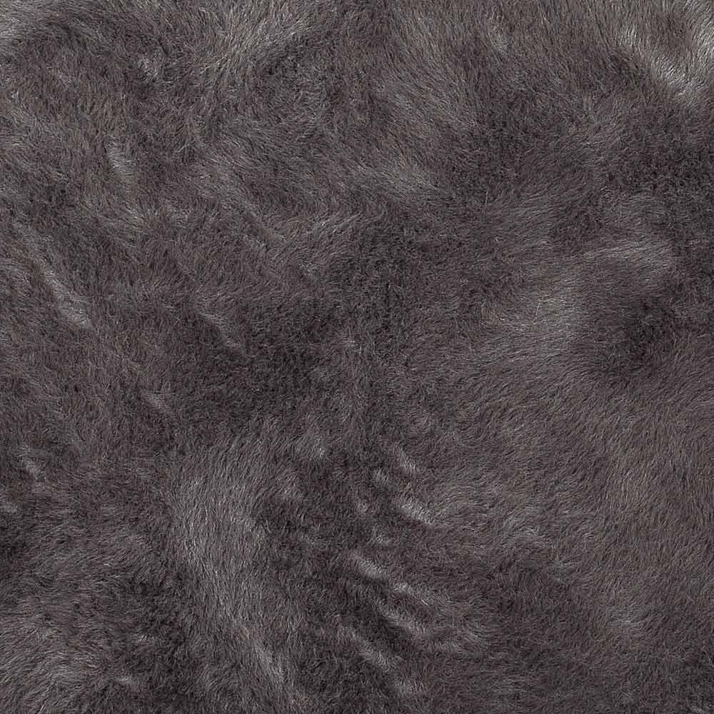 Tapis rond gris fonc pilepoil d coration smallable - Tapis gris fonce ...