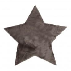 Tapis étoile - Gris foncé