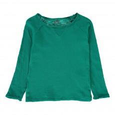 T-Shirt Manches Longues Vert émeraude