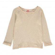 T-Shirt Manches Longues Beige