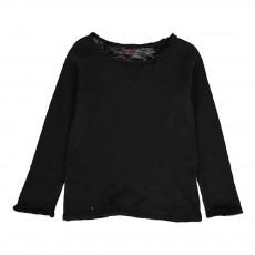 T-Shirt Manches Longues Noir