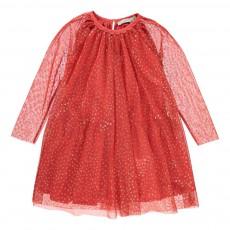 Robe Etoiles Tulle Misty Rouge