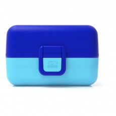Bento Tresor enfant modulable 3 compartiments Bleu