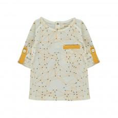 T-Shirt Constellations Tête Dans Les Etoiles Ecru