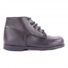 Boots Cuir Milocho Bleu marine