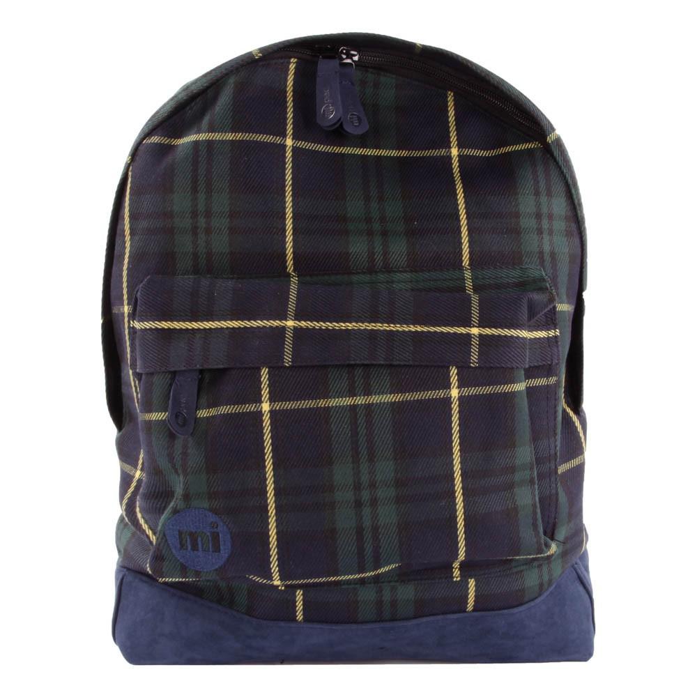 sac dos tartan prenium bleu marine mi pac mode ado gar on smallable. Black Bedroom Furniture Sets. Home Design Ideas