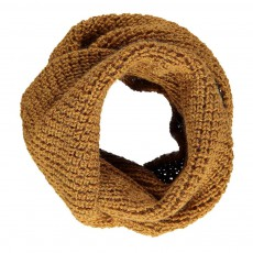 Exclusivité Oeuf x Smallable- Double Snood Ocre