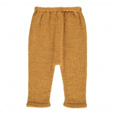 Exclusivité Oeuf x Smallable- Sarouel Baby Alpaga Hammer Pants Ocre